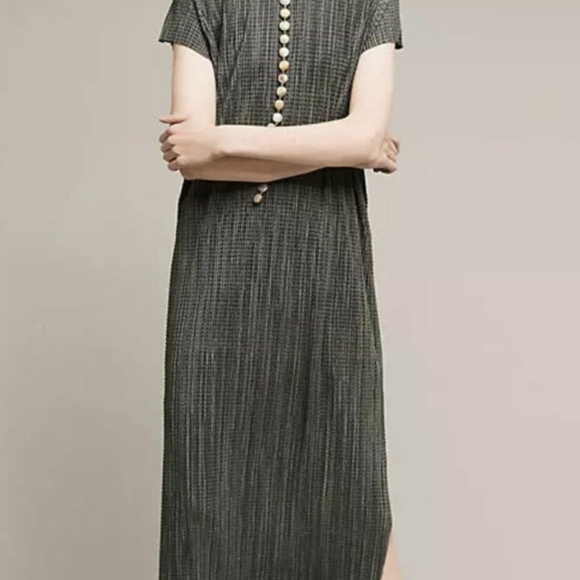 Anthropologie Dresses & Skirts - Anthropologie Sabina Musayev Green Silky Textured